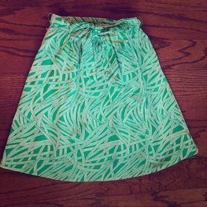 LANDS END Full Skirt Size 6